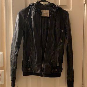 Garage hooded jacket